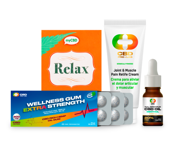 Pain Control Pack Extra